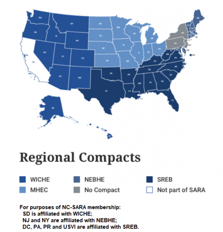 Map Of Pharmacy Schools In Us Directory | NC SARA